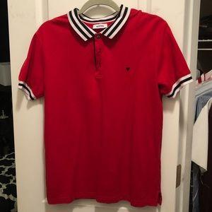 Red Moschino Polo